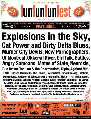 Fun Fun Fun Fest 2007