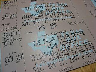 Blue October 20071117