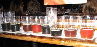 Samples of Beer