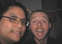 Me and Simon Pegg