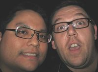 Me and Nick Frost